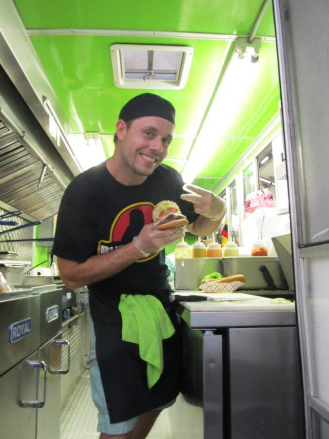Julio, Owner of Monster Burgers
