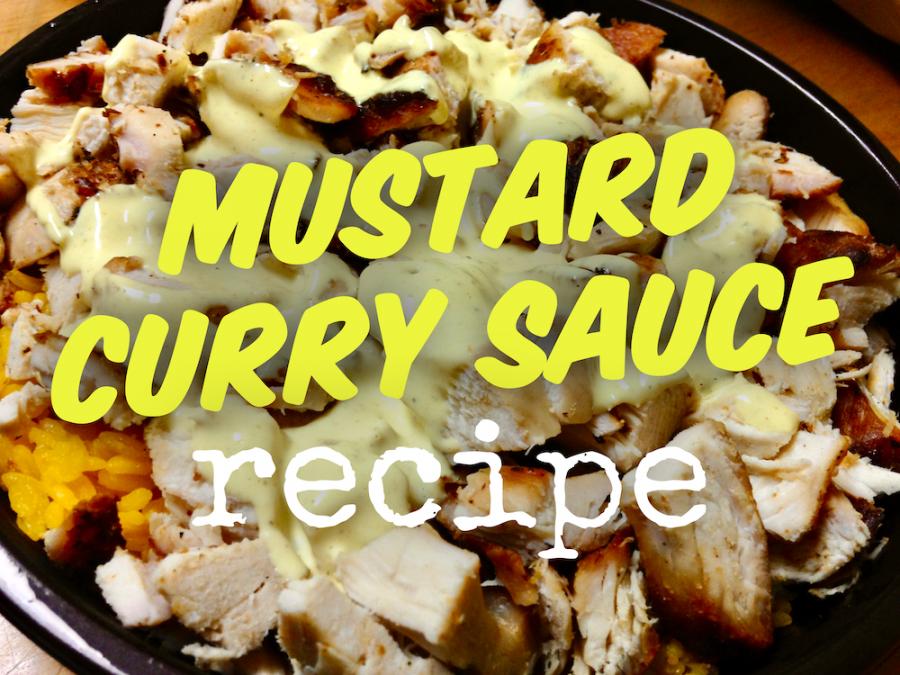 Mustard Curry Sauce Recipe