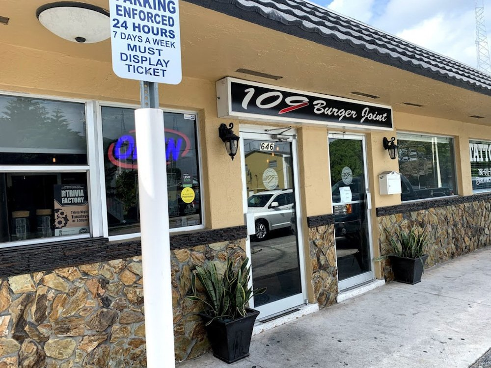 109 Burger Joint – Sweetwater, Florida