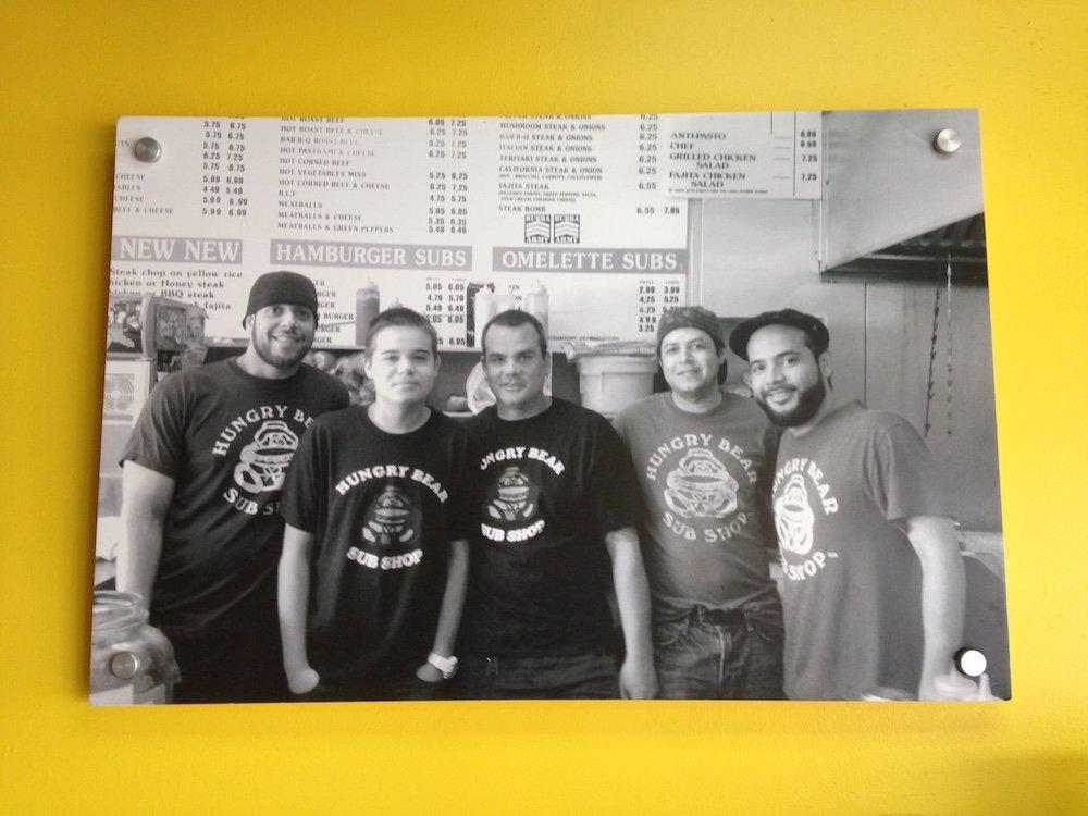 Hungry Bear Sub Shop Family Pics