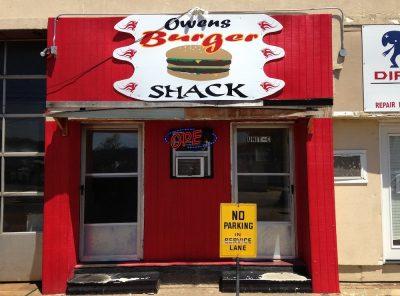 Owens Burger Shack in Clarksdale, Mississippi