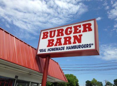 Burger Barn in Jackson, Tennessee