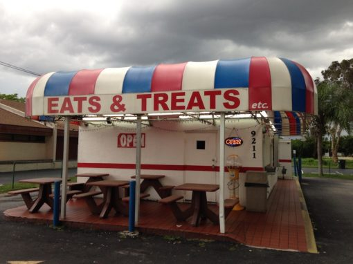 Eats & Treats Building in Ft. Myers, Florida
