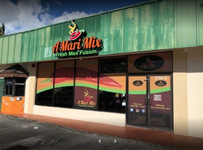 A-Mari-Mix in my Hometown of Westchester, Florida