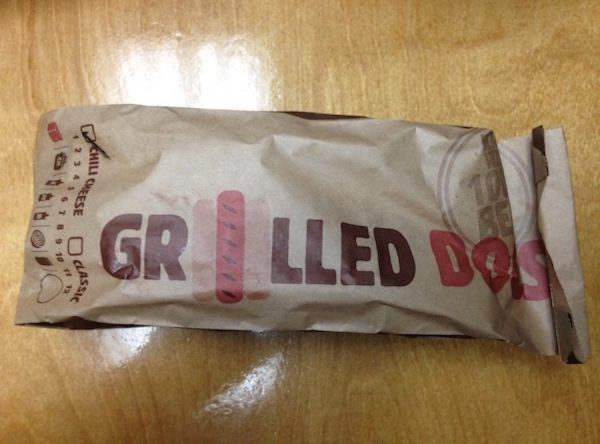 Did Burger King have Grilled Hot Dogs?