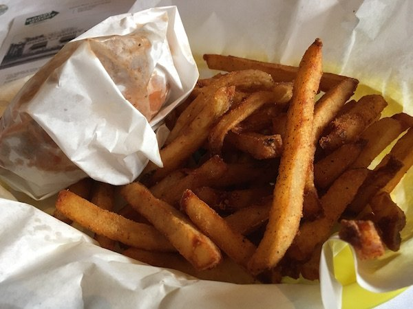 Fresh Cut Seasoned Fries