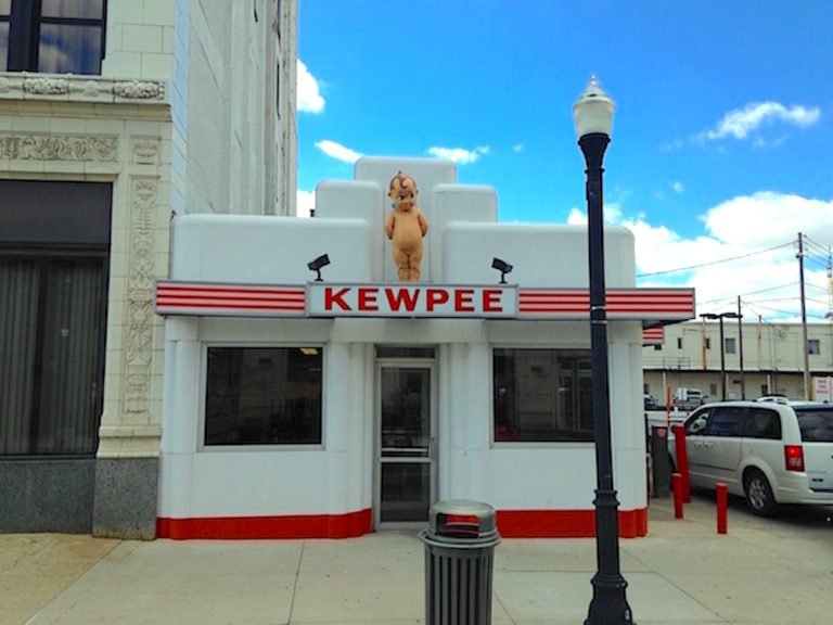 Old Fashioned Burgers from Kewpee Hamburgers in Downtown Lima