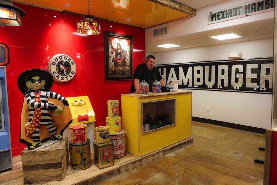 Burger Museum Entrance