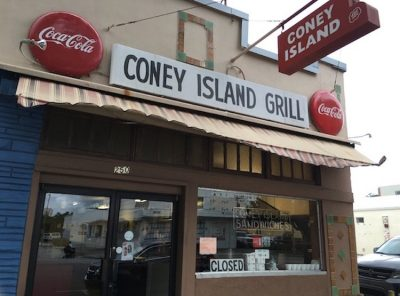 Coney Island Grill - St. Petersburg, Florida