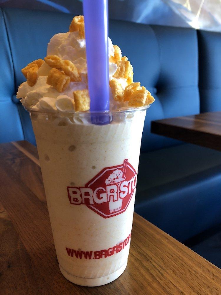 BRGR Stop Capn Crunch Craft Milkshake