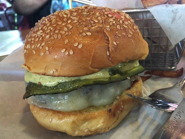 Brgr Stop's Ay Papi Burger
