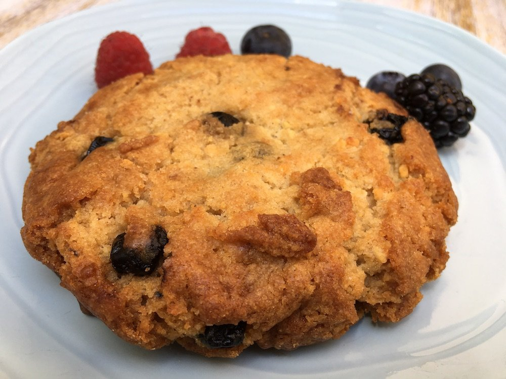 Wife Hales' Blueberry Cookie