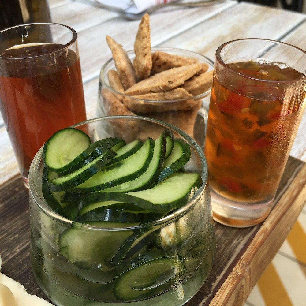 Pickles, Corn Chips & Jalapeño Jelly