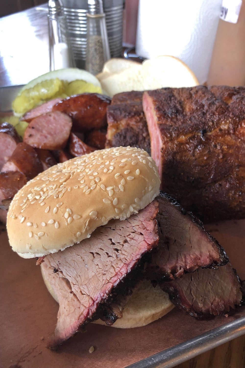 BBQ Platter on a Re-visit in May 2019