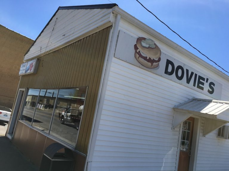 Squozed OR Unsquozed Burgers at Dovie's in Kentucky