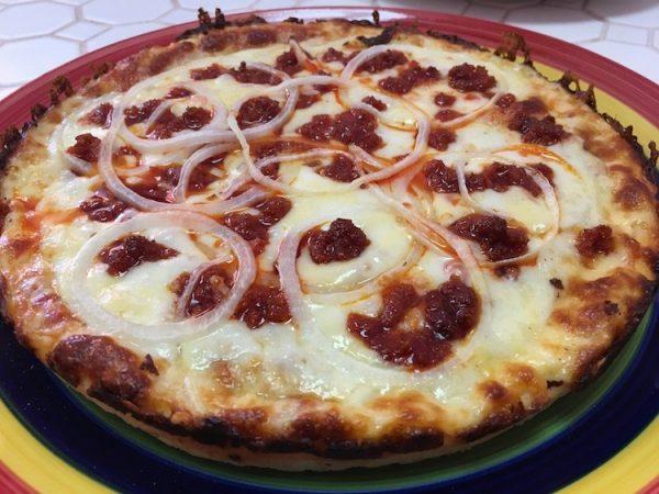 Tio Colo Chorizo & Onion Pizza Cubana