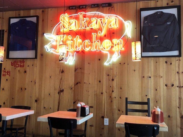 Orange Ribs for the win at Sakaya Kitchen