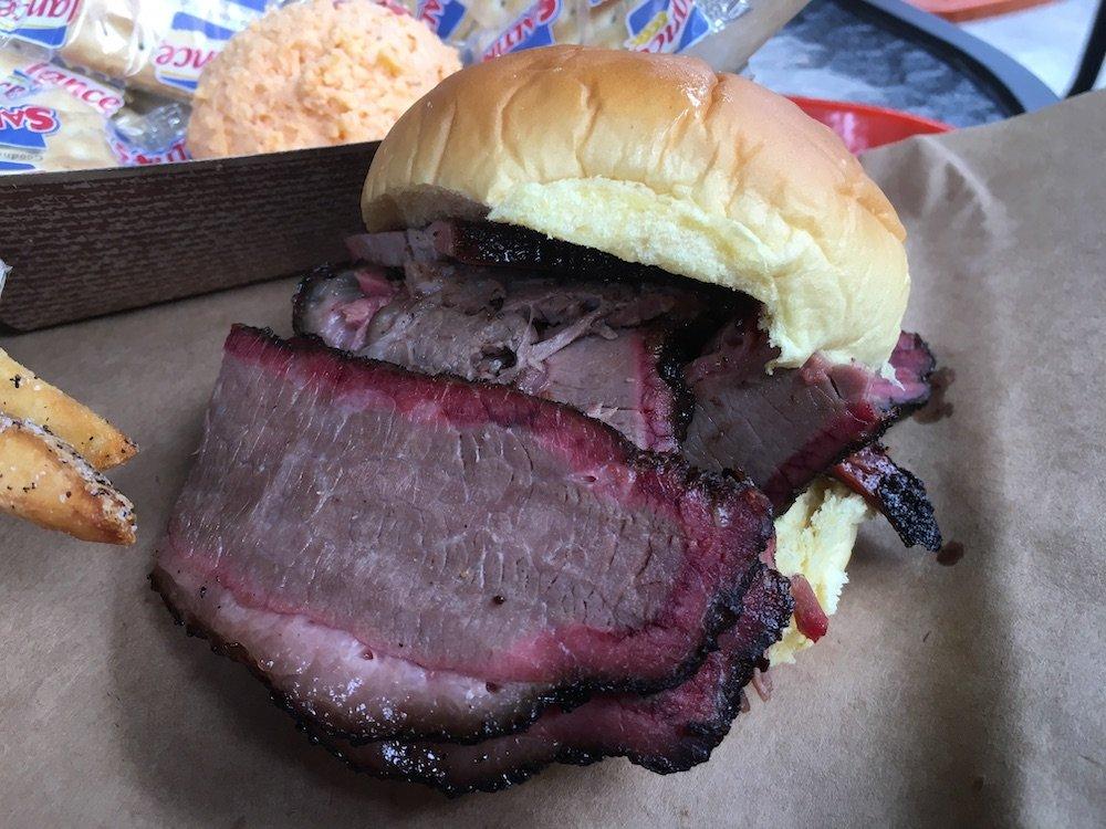 Bearded Pig BBQ Brisket Sandwich