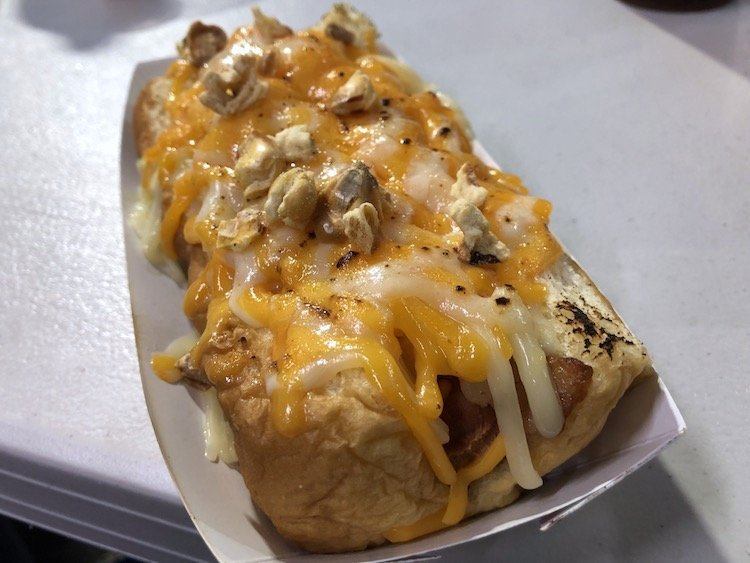 Grilled Cheese Dog