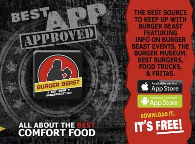 The Burger Beast App for Android & iPhone