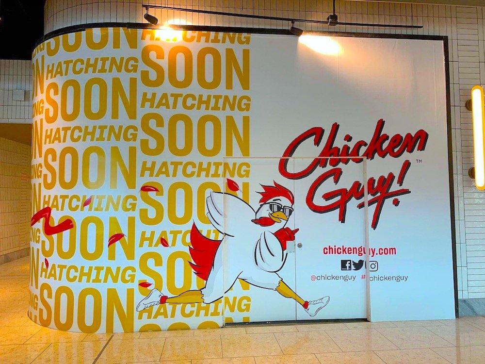 Chicken Guy Coming Soon