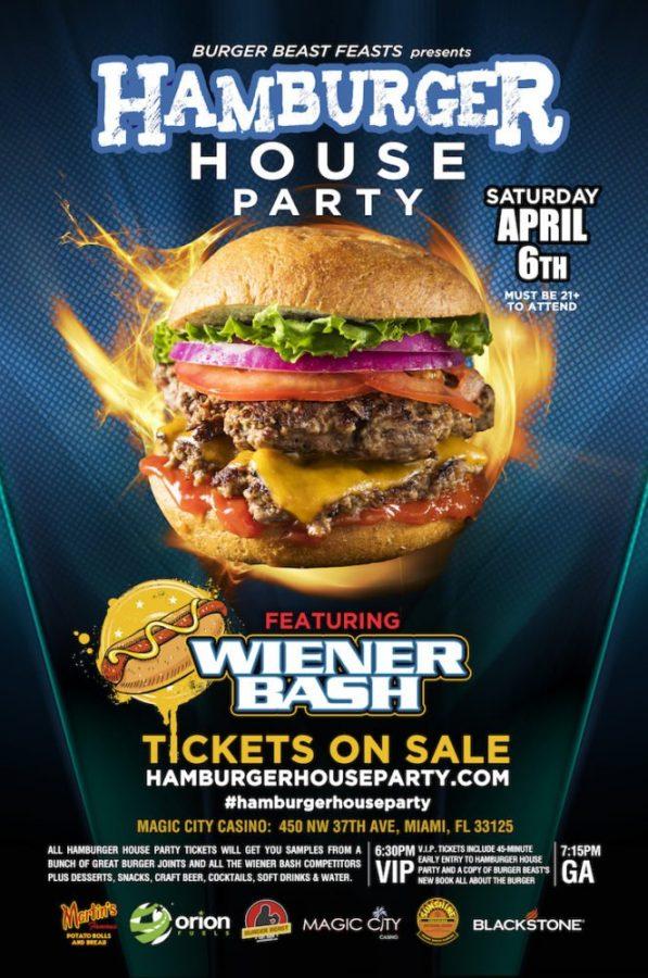 Hamburger House Party 2019 Poster