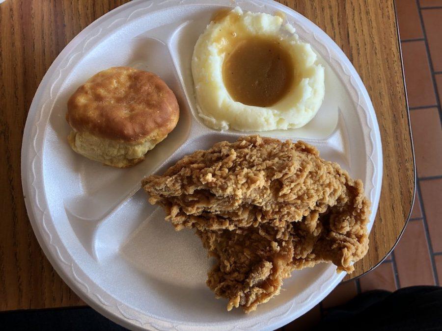 Lee's Famous Recipe Chicken Platter