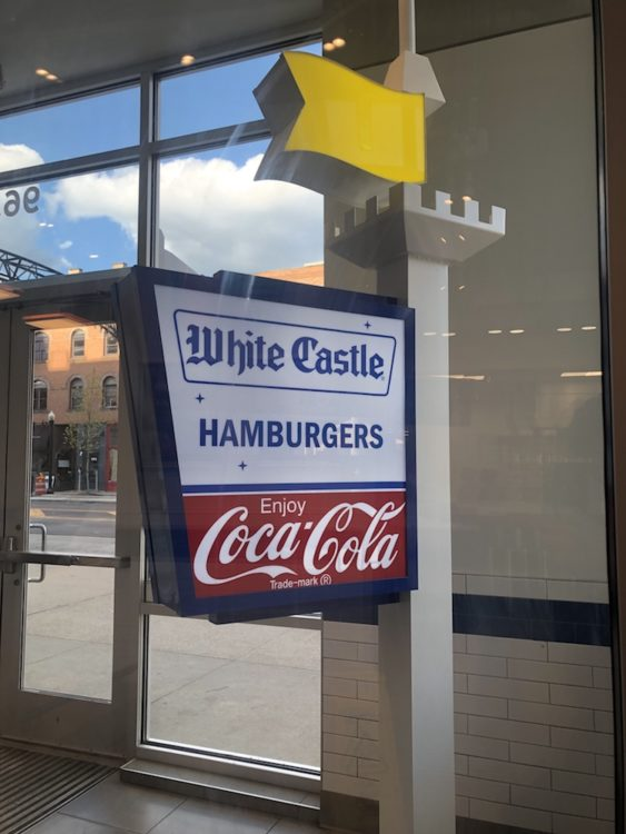 White Castle sign from Original Building