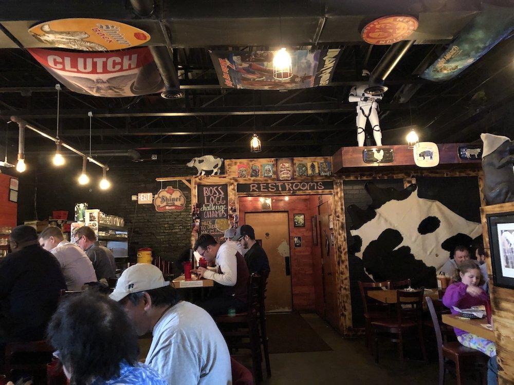 Meat BBQ in Lansing, Michigan Heavy Metal & Star Wars Vibe