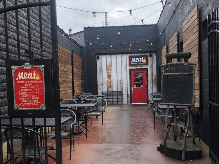 Lansing's Meat BBQ has a Heavy Metal & Star Wars Vibe