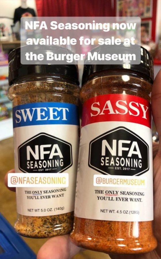NFA Seasoning, available in Sweet & Sassy