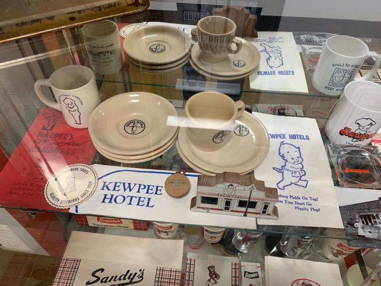 Kewpee artifacts from the Burger Museum