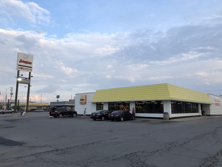 The largest Kewpee Hamburgers in Lima, Ohio