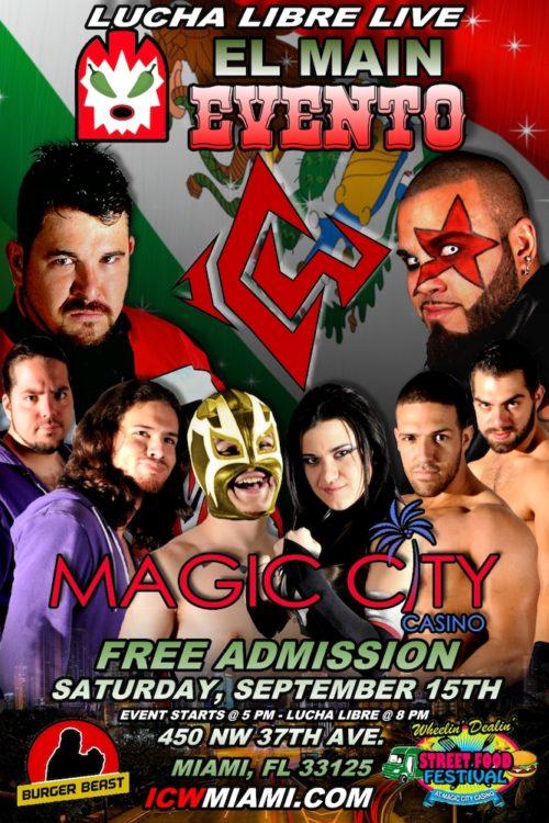 El Main Evento 2012 Poster