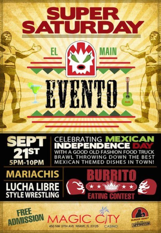 El Main Evento 2013 Poster