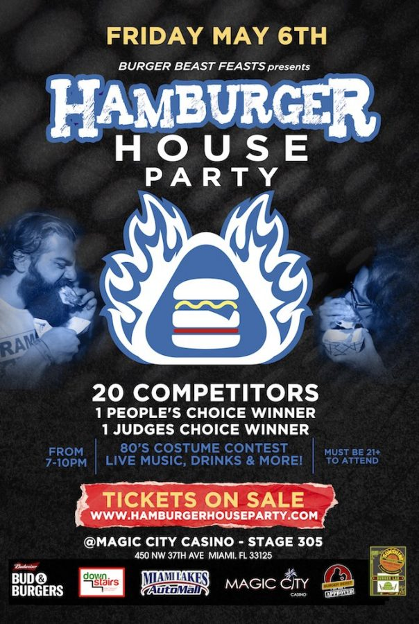 Hamburger House Party 2016 Poster