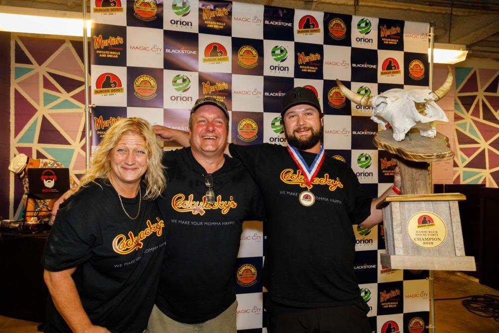 Hamburger House Party 2019 Judge's Winner - Cackylacky's