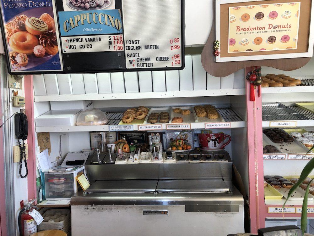 Cake Donuts Display