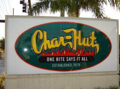Char-Hut Burgers in Broward County since 1976
