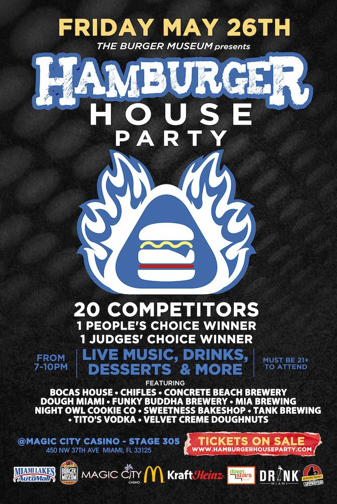Hamburger House Party 2017 Poster