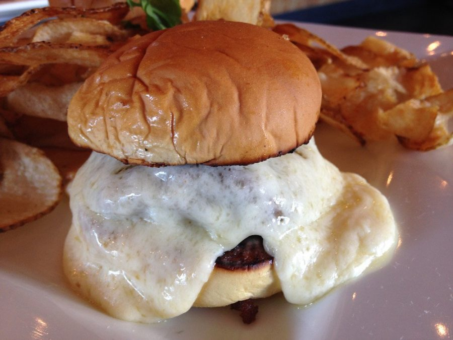 Latin House Steamed Cheeseburger