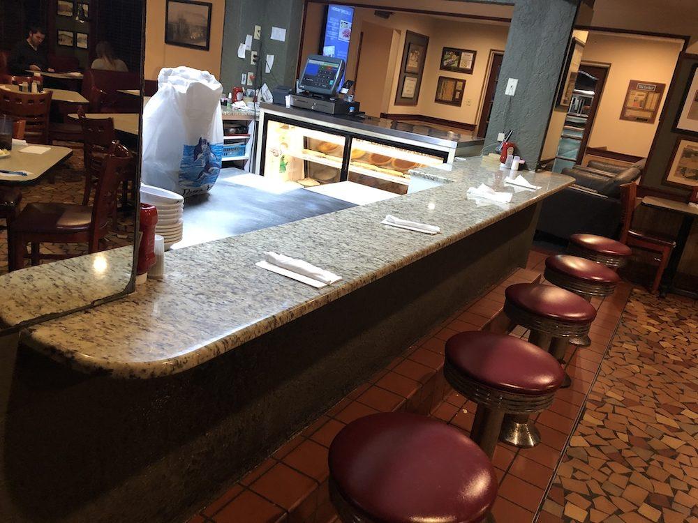 Inside the Reececliff Family Diner - Lakeland, Florida