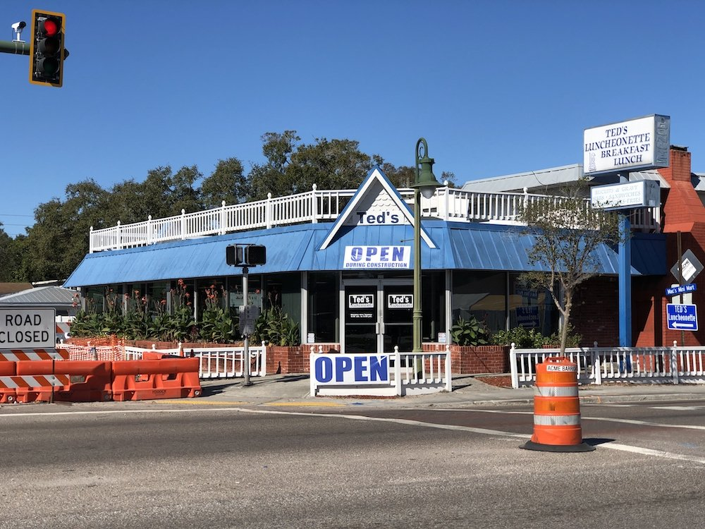 Ted's Luncheonette in Largo, Florida