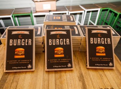All About the Burger Book by Burger Beast