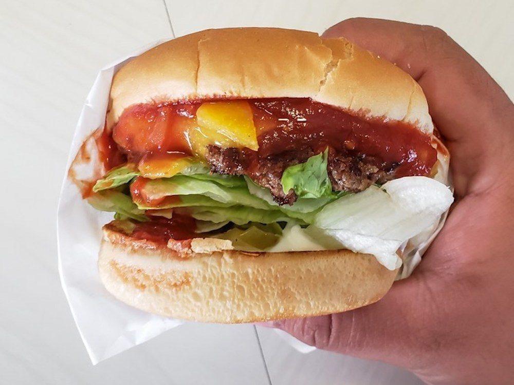 Apple Pan Hickory Burger