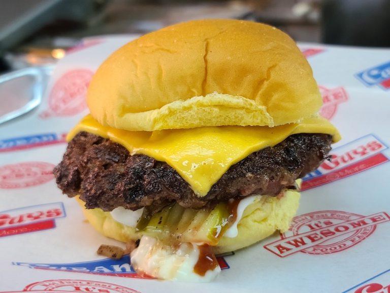 Burger Beast Burgers Were Available at Cuban Guys