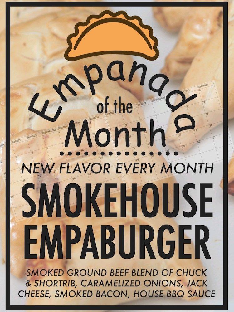 Empanada Harry's Smokehouse Empaburger