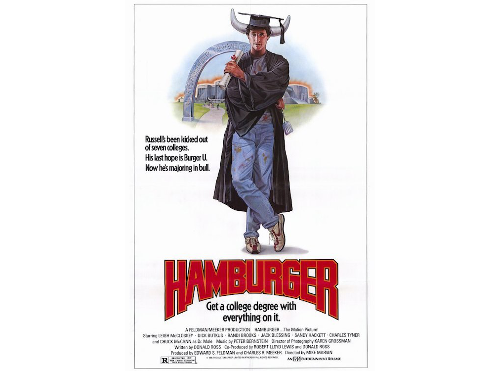 Hamburger: The Motion Picture Alternate Poster