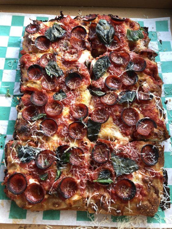 Pizza Top Shot