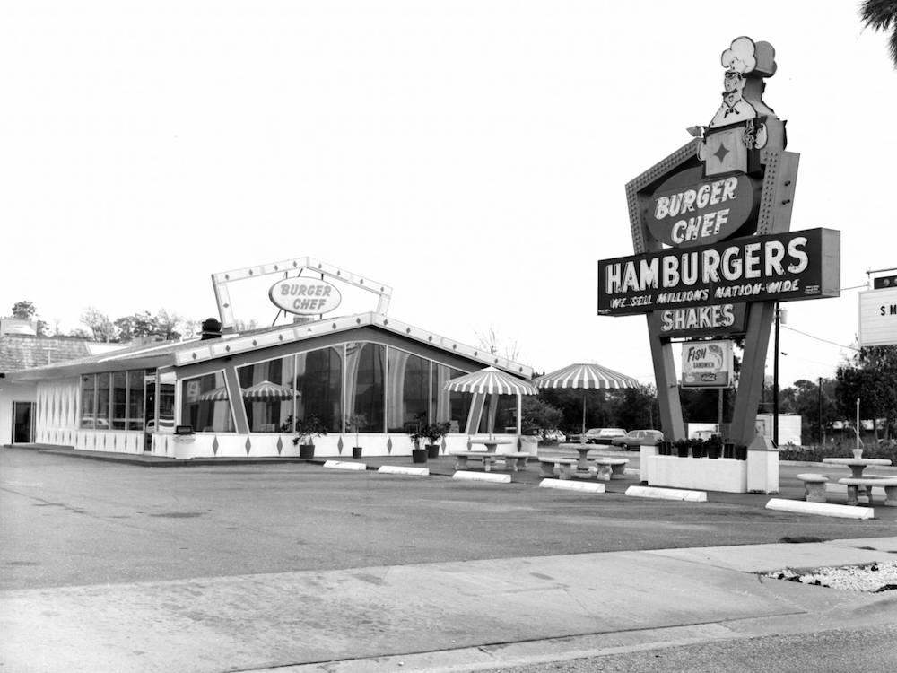 Burger Chef Building 1973